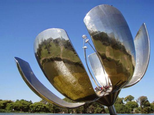 Amazing Metallic Flower in Argentina