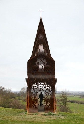 This Unique Church Can Disappear In Seconds