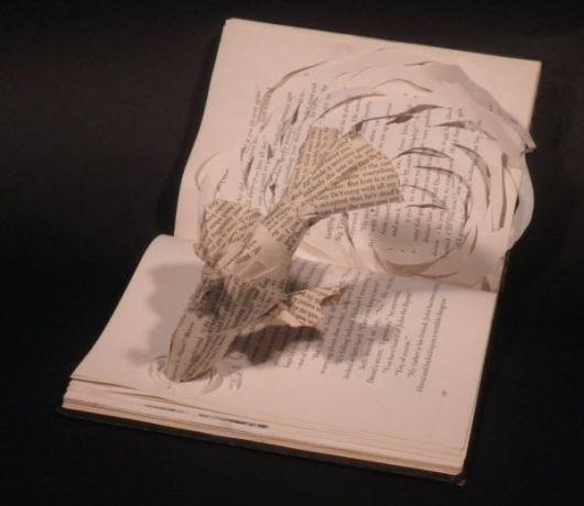Inspiring Book And Paper Sculptures