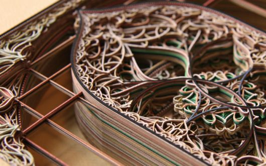 Beautiful Laser Cut Paper Art By Eric Standley