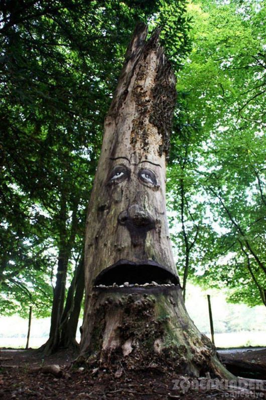 Funny Trees Artwork Project