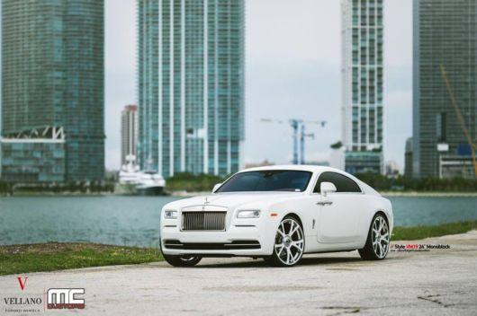 Rolls Royce Wraith - Vellano VM19 24 Monoblock