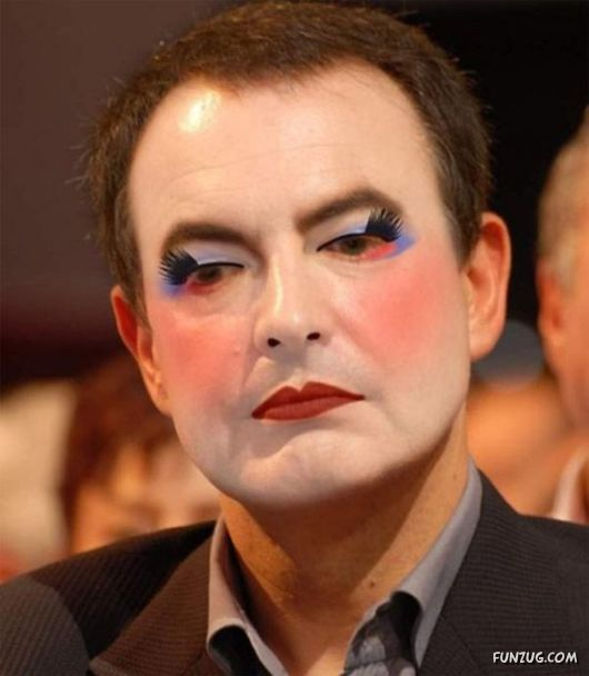 Famous Politicians in Charming Makeup