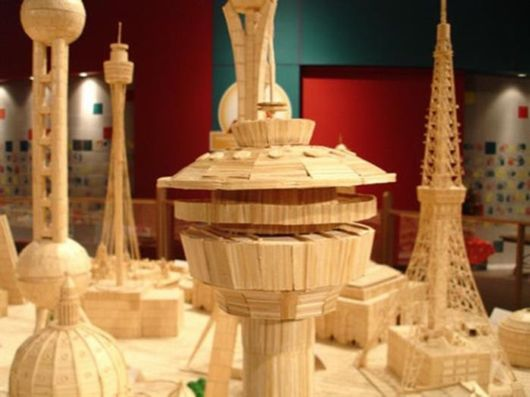Simply Marvellous Toothpick Art By Stan Munro