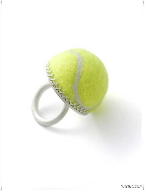 Creative Things From The Tennis Balls