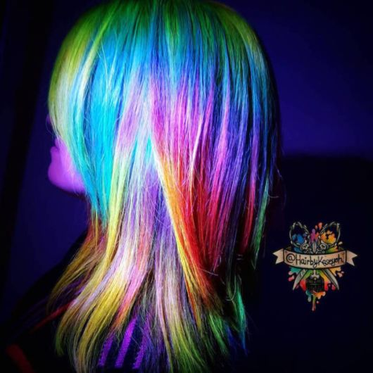 Cool Latest Trend Of Neon Coloured Hair