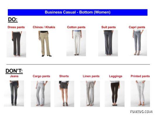 Professional Attire For Men And Women Funzug