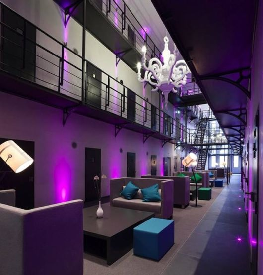 A Jail Turned Into Luxury Hotel