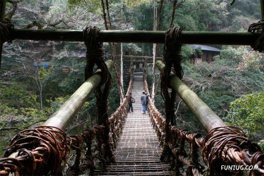 Natural Bridges of Cherrapunjee, India