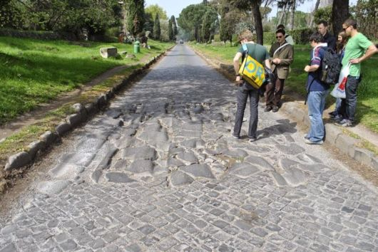 The Appian Way Of Rome