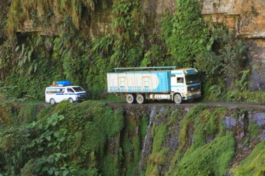 The Most Dangerous Road In The World In Bolivia
