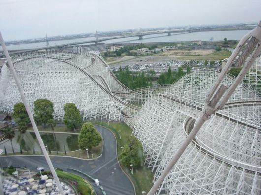 Nagashima Spaland Amusement Park In Kuwana, Japan