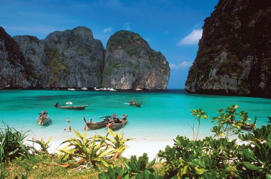 The Phi Phi Islands In Thailand