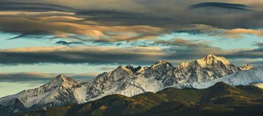 Stunning Views Of The Tatra Mountains
