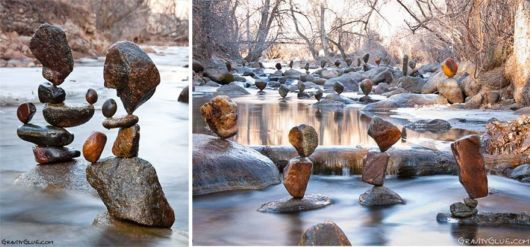 Balanced Rocks Of Impossible Towers