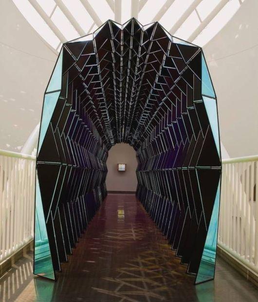 Mesmerizing Tunnel Of Glass Is Like An Alien Ship