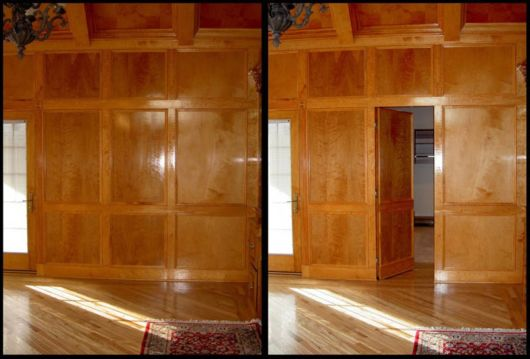 Amazing Secret Doors That Keep Rooms Hidden