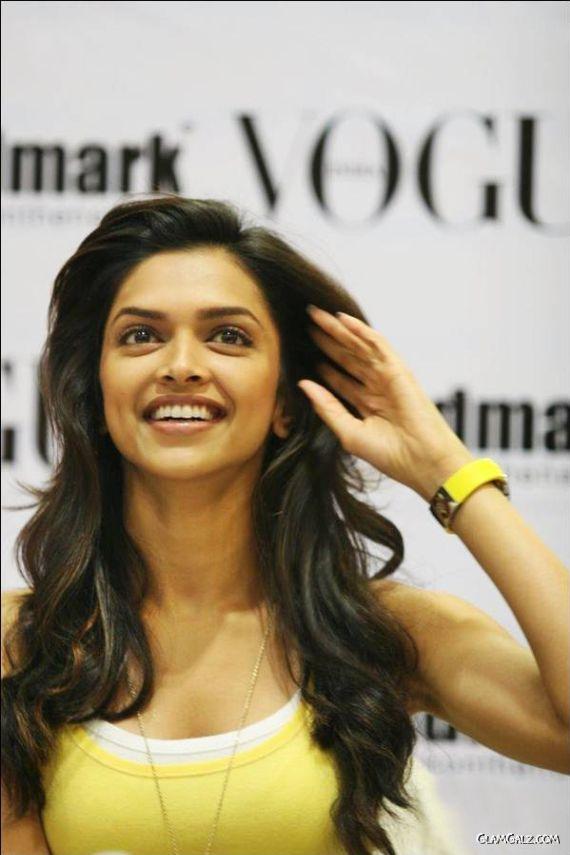 Deepika Padukone Unveils Vogue