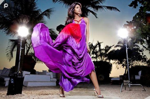 Priyanka Chopra Photoshoot for Her Website