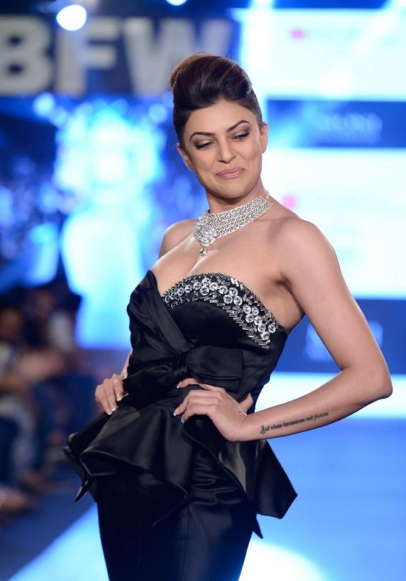 Sushmita Sen On The Ramp