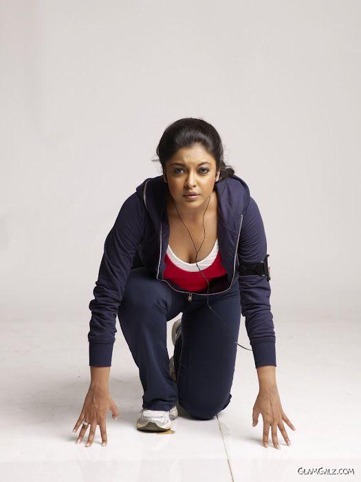 Tanushree Dutta Gym Photo Shoot