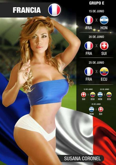 Click to Enlarge - Awesome FIFA World Cup 2014 Calendar
