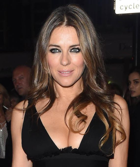 Elizabeth Hurley AT Dsquared2 London Flagship Opening