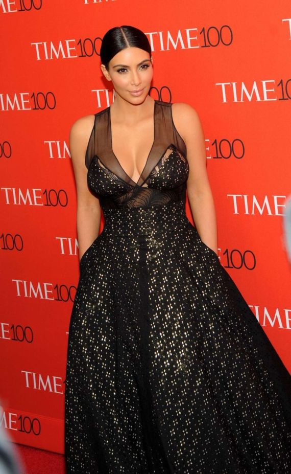 Kim Kardashian At TIME Most Influential World Gala