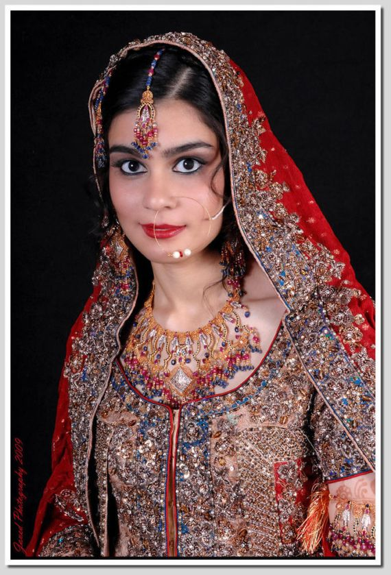 Indian Brides with Eastern Makeup