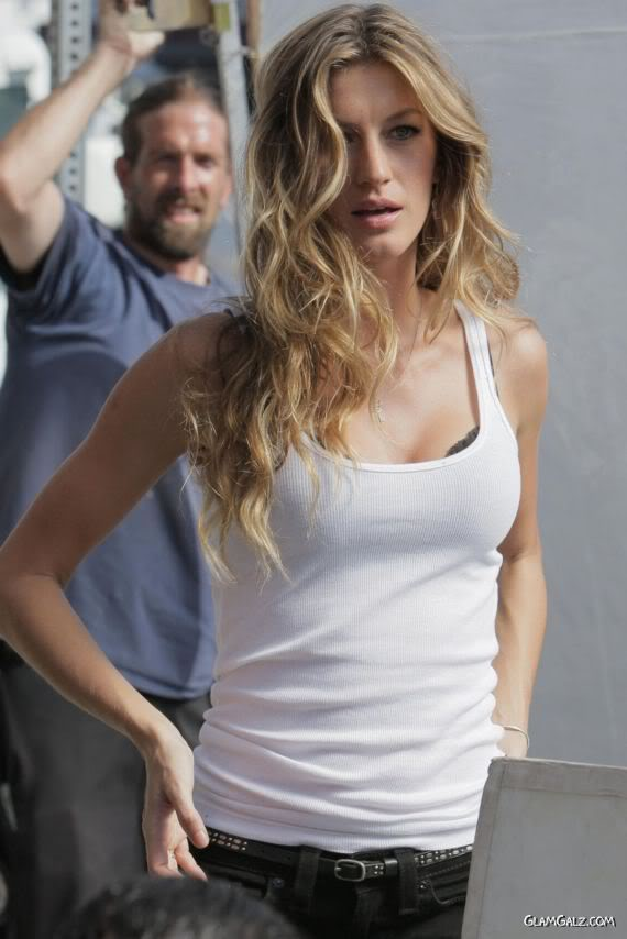 Gisele Bundchen on the Streets