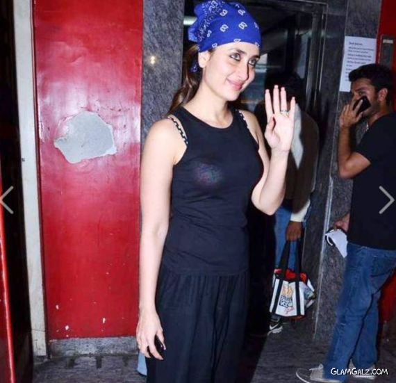 Kareena Kapoor At Gori Tere Pyaar Mein Movie Screening