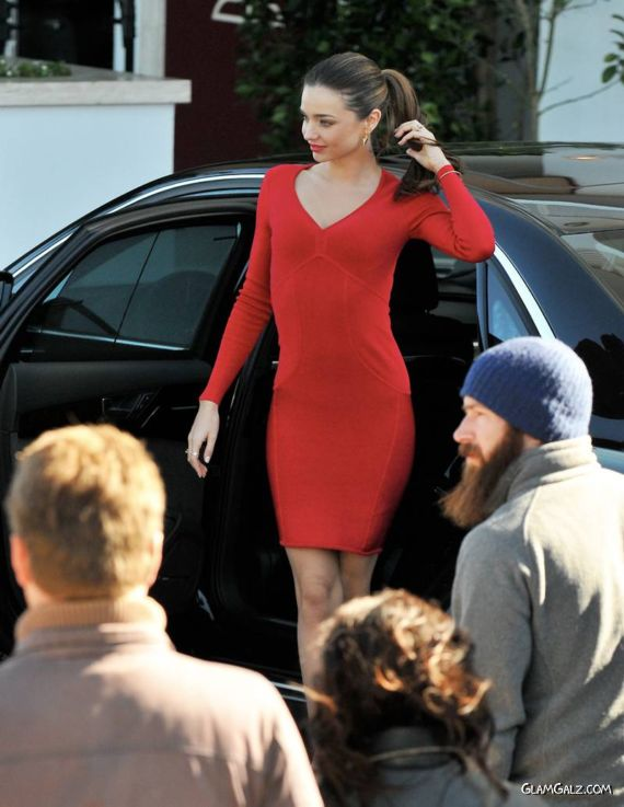 Beautiful Miranda Kerr In Beverly Hills