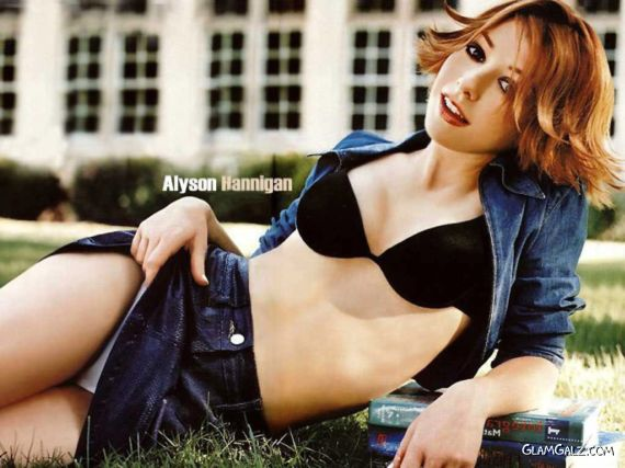 Spicy Alyson Hannigan Photoshoot