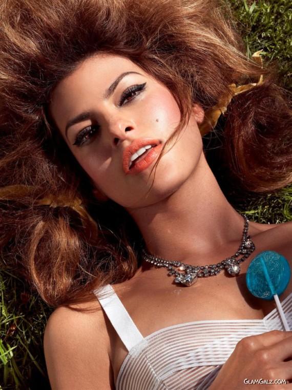 Eva Mendes Heating Up Vogue