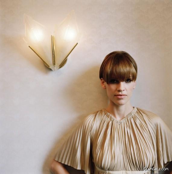 Gorgeous Hilary Swank Photoshoot