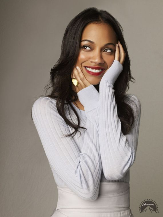 Zoe Saldana for Star Trek
