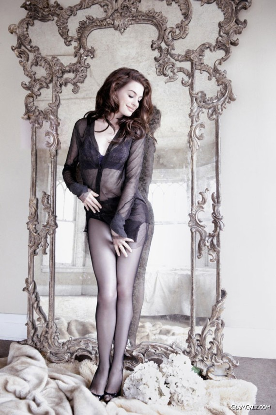 Anne Hathaway Gracing Up GQ