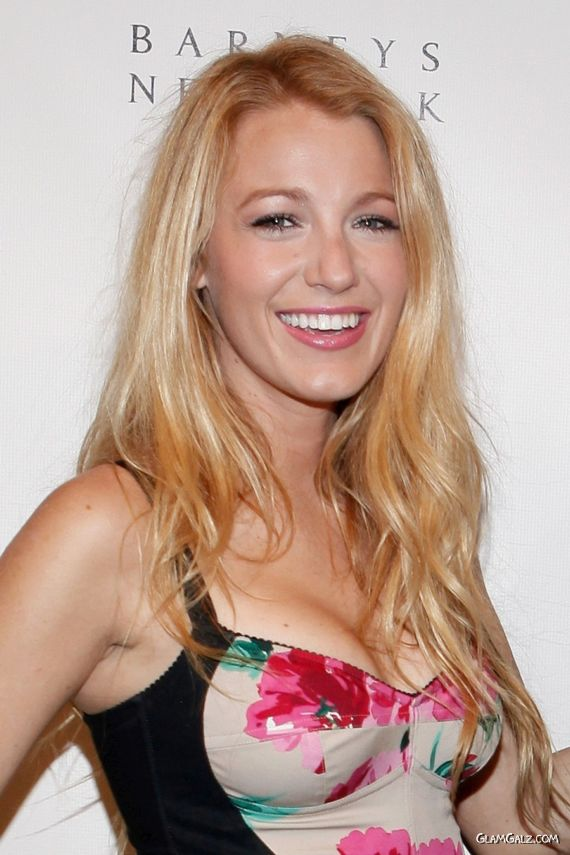 Blake Lively Getting Gorgeous