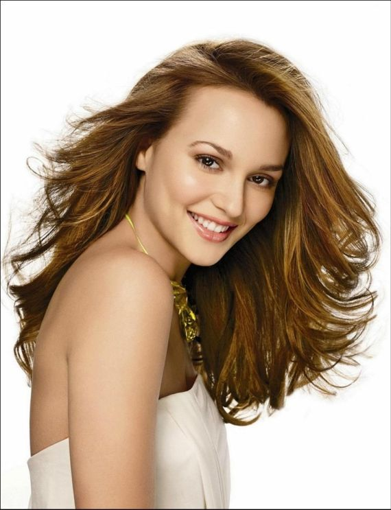 Leighton Meester For Stewart Shining Photo Shoot