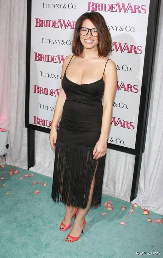 Sarah Shahi at the Bride Wars Premiere
