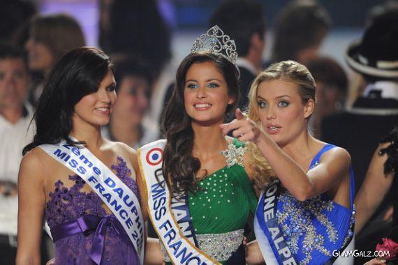 Miss France Malika Menard