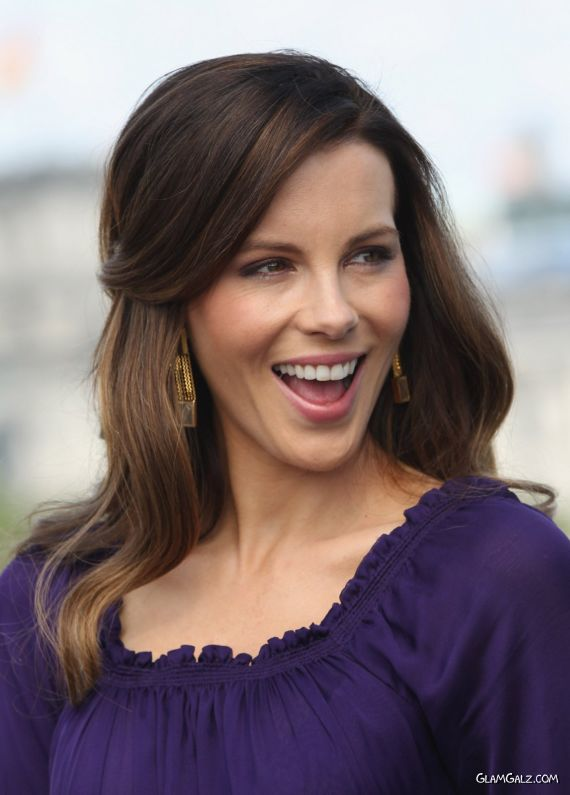 Kate Beckinsale At Total Recall Premiere