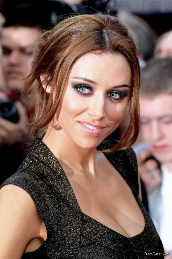 Una Healy At Premiere of The InBetweeners