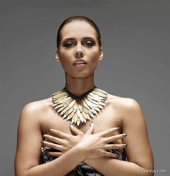 Beautiful Alicia Keys Photoshoot