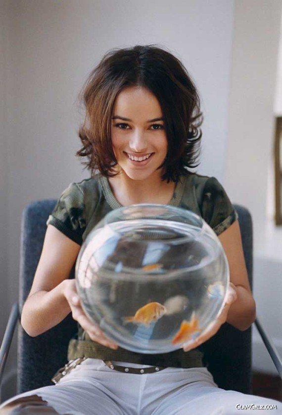 Pretty Alizee for Philippe Bouley Photoshoot