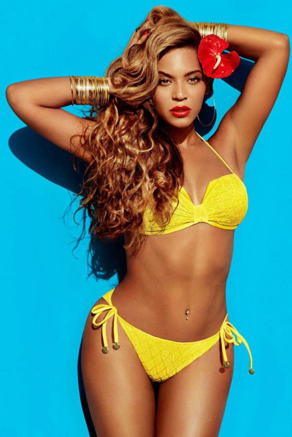 Beyonce Shoots For HnM Campaign