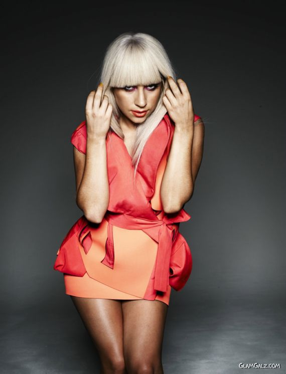 Spicy Lady Gaga Photoshoot