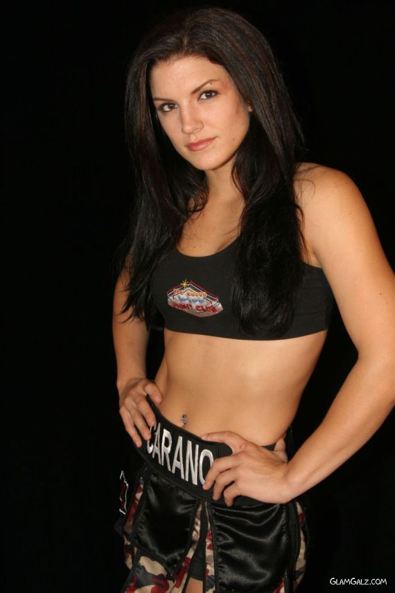 Martial Arts Fighter Gina Carano