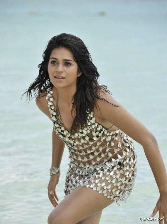 Shraddha Das On The Beach