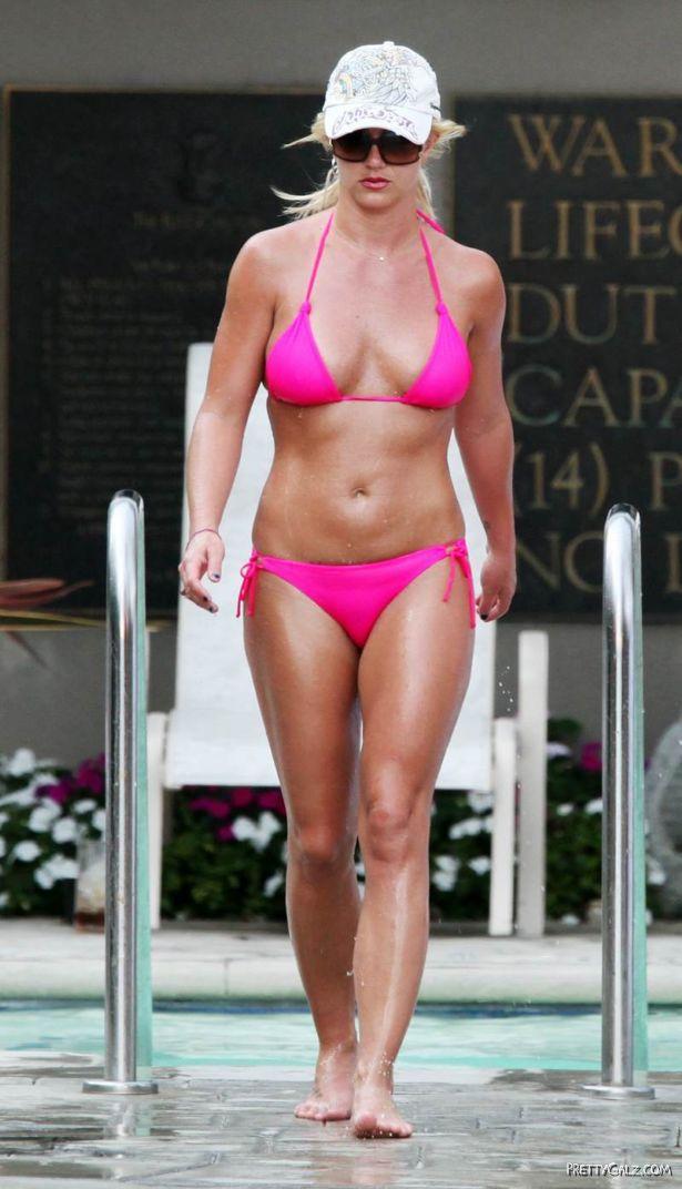 Britney Spears on Bikini Vacation